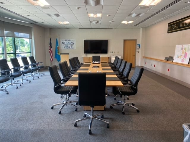 """Featured image for """"Milford Wellness Village conference rooms available"""""""