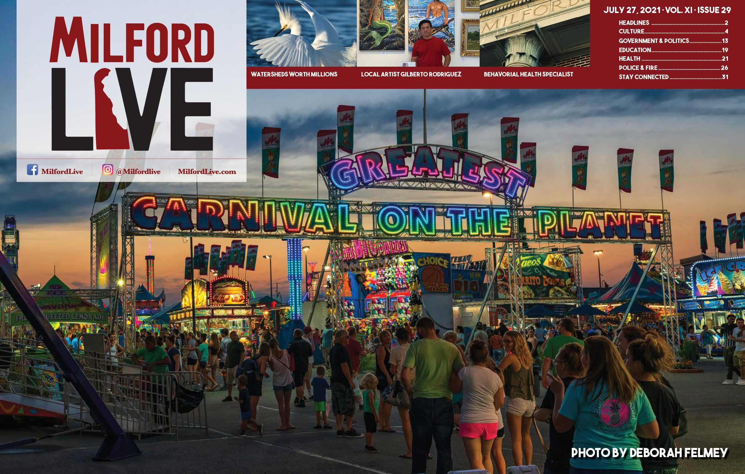 """Featured image for """"Milford LIVE Weekly Review – July 27, 2021"""""""