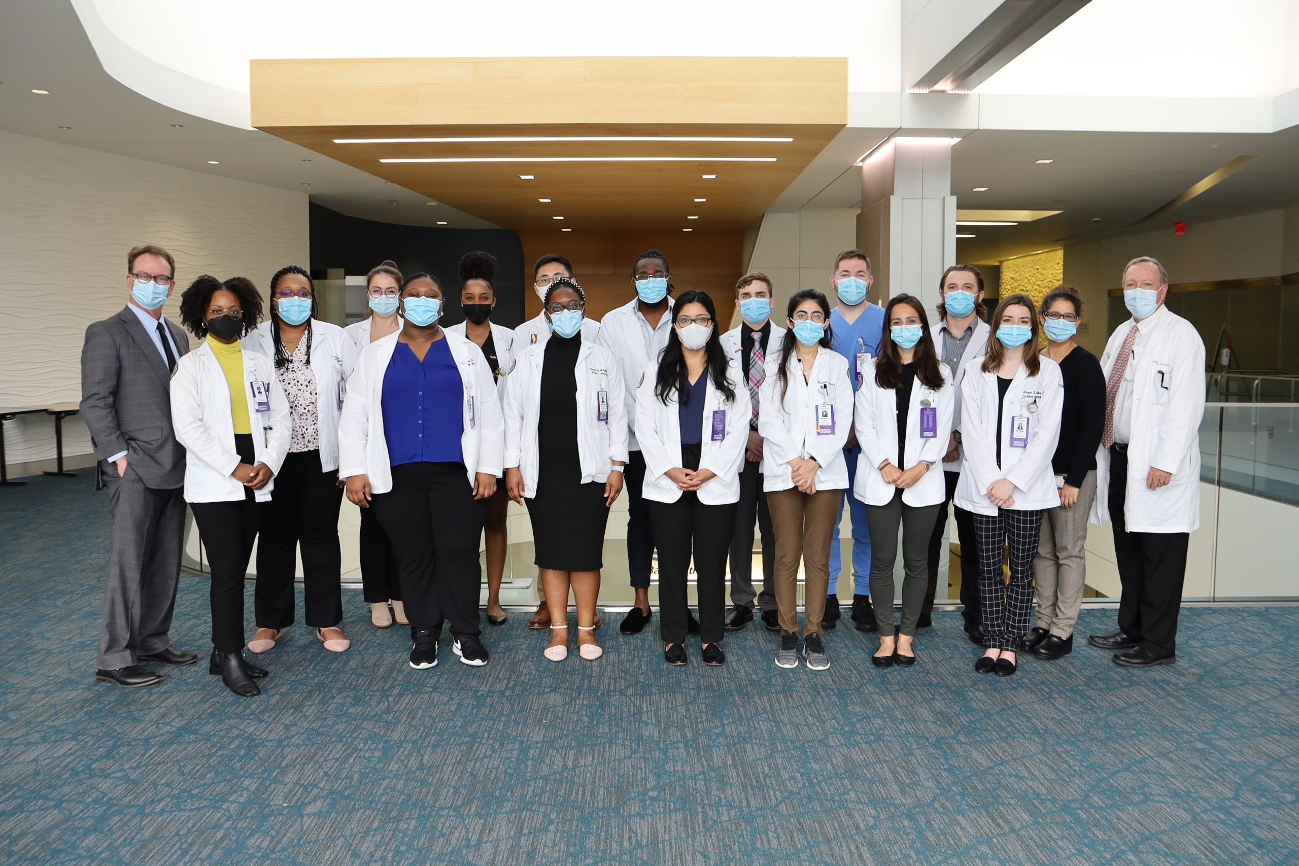 """Featured image for """"Medical students dive into clinical training at Bayhealth"""""""