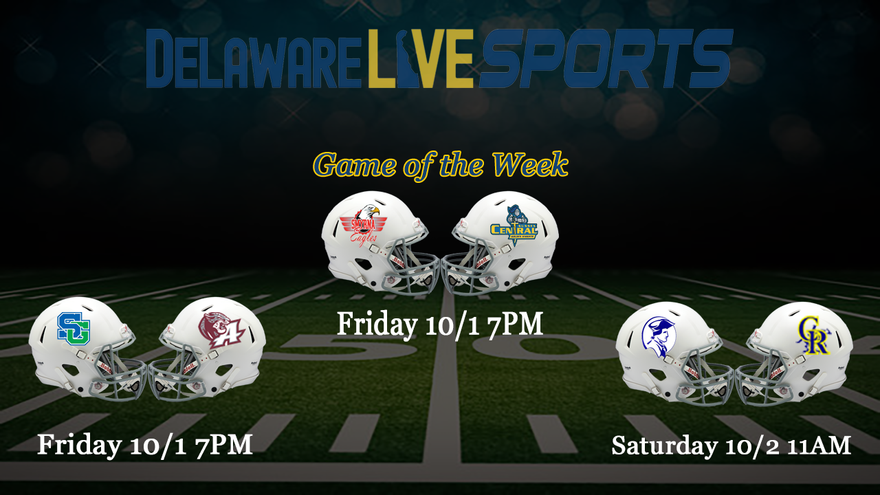 """Featured image for """"Week 4 Delaware Live streaming schedule"""""""
