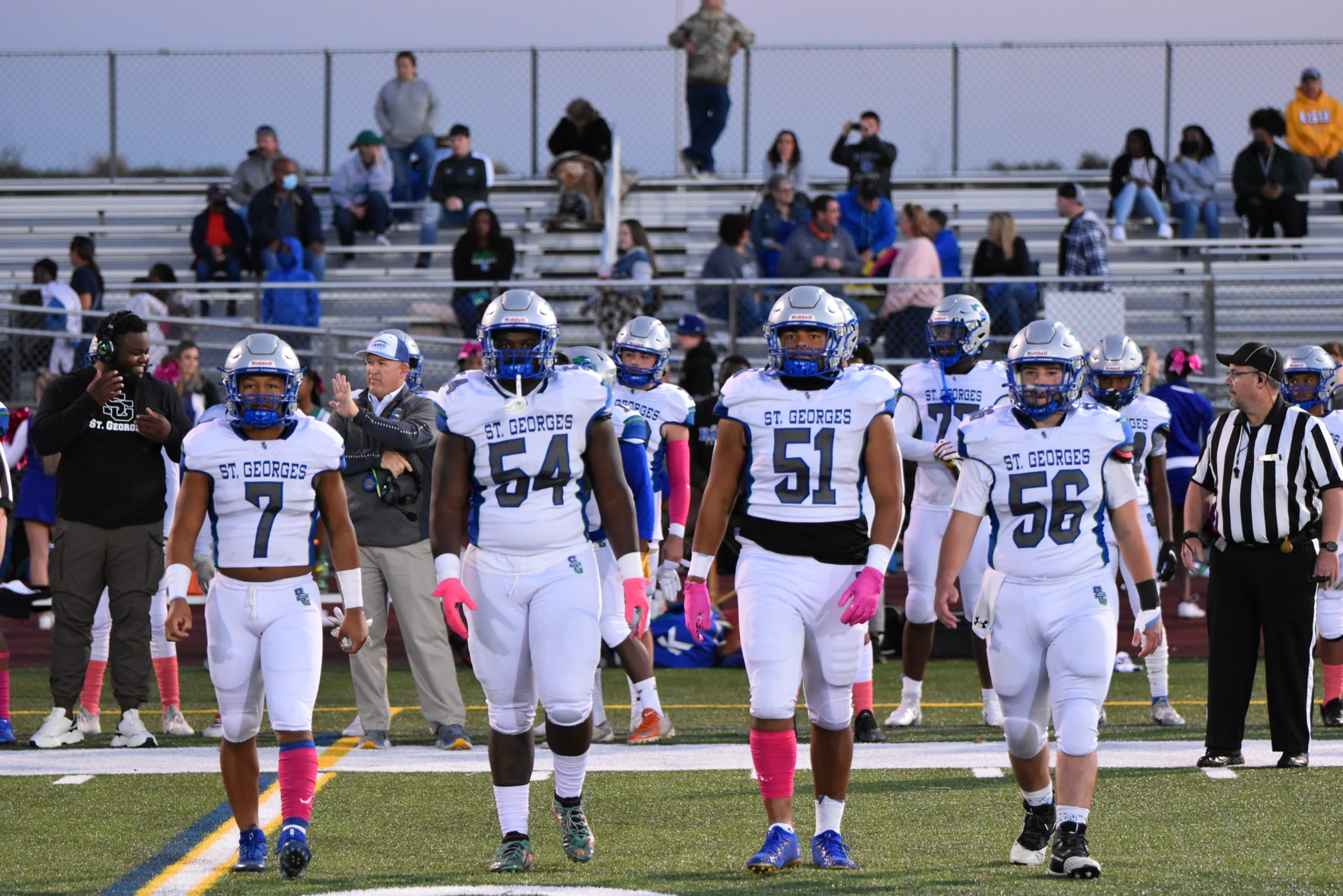 """Featured image for """"St George's gets second straight win with a 35-13 victory over Appoquinimink"""""""